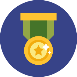 Free medal pin flat icon & Download free icons for commercial use