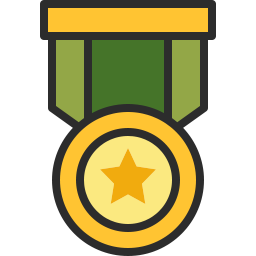 Free medal pin outline filled icon & Download free icons for commercial use