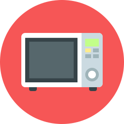Free Microwave Flat Icon Icons For Commercial Use