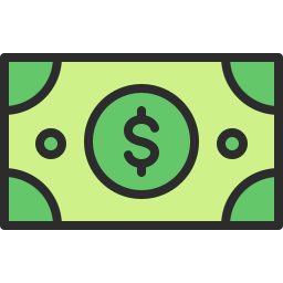 Free Money Outline Filled Icon Icons For Commercial Use