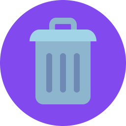 Free trash flat icon & Download free icons for commercial use