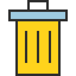 Free trash outline filled icon & Download free icons for commercial use