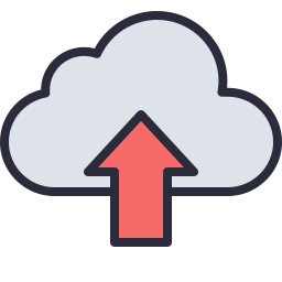 Upload Cloud Icon Outline Filled Icon Shop Download Free Icons For Commercial Use