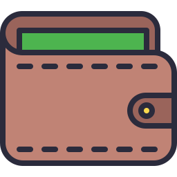 Wallet Icon Outline Filled Icon Shop Download Free Icons For Commercial Use