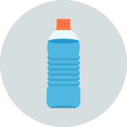Free water bottle flat icon & Download free icons for commercial use