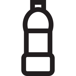 Free water bottle outline icon & Download free icons for commercial use