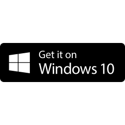 Free Get it on Windows Store Button & Download free icons for commercial use