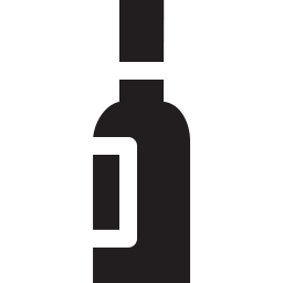 Free wine bottle solid icon & Download free icons for commercial use